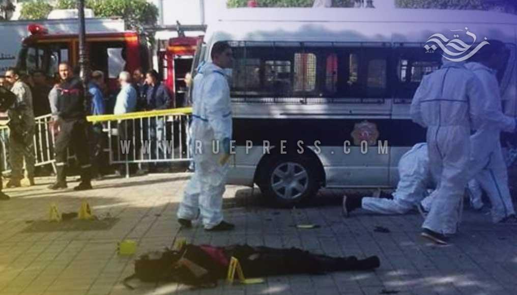 تفجير إنتحاري لفتاة بشارع الحبيب بورقيبة بتونس