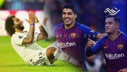 مفاجأة برشلونة ... وربع ساعة لريال مدريد!