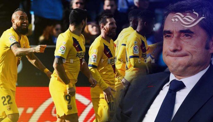 لولا الثوابت ما ثبت برشلونة، حيث هو مثبت !